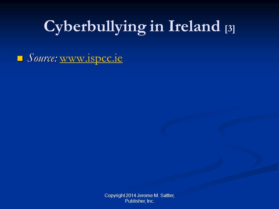 Cyberbullying in Ireland [3]